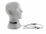 Voice box security headsets (Throat Headsets)